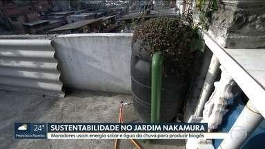 Jardim Nakamura dá exemplo de sustentabilidade em SP - É possível instalar sistemas de energia renovável em casa