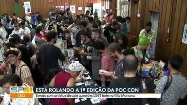 Evento com artistas discute questões LGBT na Vila Mariana - A 1ª edição da POC CON reúne 73 artistas.
