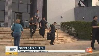 Último preso pela Polícia Federal na Operação Chabu é liberado - Último preso pela Polícia Federal na Operação Chabu é liberado