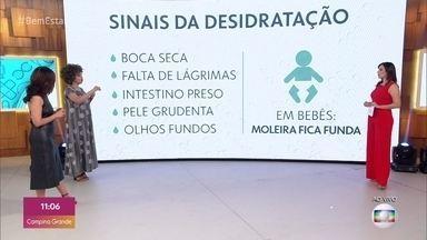 Saiba quais são os riscos de não se manter hidratado no inverno - A médica Júlia Rocha explica quais são os sinais de desidratação e diz que é preciso ficar atento principalmente às crianças e aos idosos