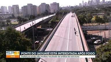 SP1 - Edição de segunda-feira, 24/06/2019 - Ponte do Jaguaré está interditada após incêndio. CET começa a multar motos na Marginal Pinheiros. Bandidos matam policial durante abordagem. Parada LGBT atrai 3 milhões de pessoas. 24 de junho é dia de São João.