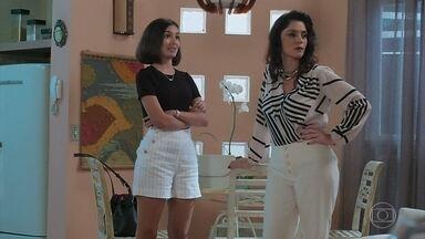 Filipa não gosta de Larissa junto com Diego - Larissa defende o namorado
