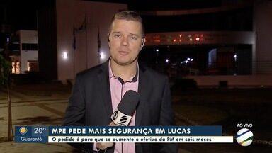 Ministério Público entra com ação para aumentar efetivo da PM em Lucas do Rio Verde - Ministério Público entra com ação para aumentar efetivo da PM em Lucas do Rio Verde