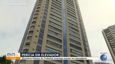 MPT faz perícia em prédio onde operário morreu ao cair de fosso do elevador - O acidente foi no sábado (21), no bairro do Horto Florestal.