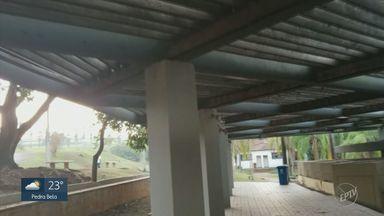 Vândalos danificam Parque Ecológico de Campinas - Várias lâmpadas foram retiradas e banheiros seguem sem manutenção.