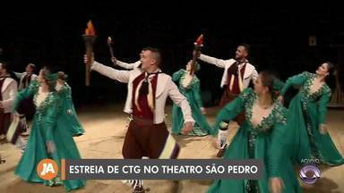 CTG realiza estreia com espetáculo de dança no Theatro São Pedro - Ideia é ampliar o público do grupo.