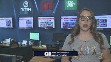 Carol Andrade traz os destaques do G1 nesta terça-feira - Carol Andrade traz os destaques do G1 nesta terça-feira (25).