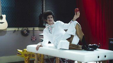 Episódio 3 - Na aula de pintura, Zé Bonitinho serve de modelo para os colegas. Mazarito recebe as boas-vindas da classe. Dona Escolástica avisa sobre uma tempestade que surpreende a turma.