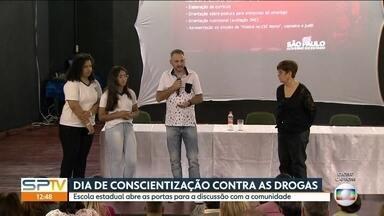 Governo lança campanha contra as drogas em escolas públicas - A ideia é discutir com alunos do ensino médio os riscos de entrar nessa onda.