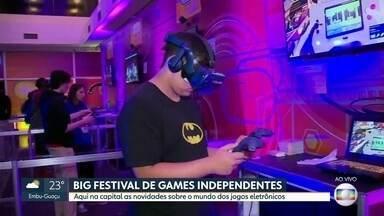 Big Festival de Games Independentes - Aqui na capital as novidades sobre o mundo dos jogos eletrônicos