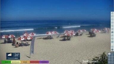 Primeiro fim de semana das férias tem Sol, calor e nada de chuva nas praias de SP - Tempo firme também está previsto para todas as regiões do estado.