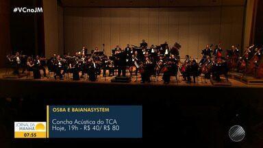 Dois de julho: confira os eventos comemorativos que acontecem nesta terça-feira (2) - Entre os destaques, tem show da banda Baiana System com a Orquestra Sinfônica da Bahia, no TCA.