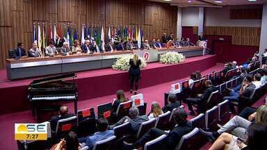 Nova diretoria da Associação Sergipana do Ministério Público de Sergipe toma posse - A entidade representa os promotores e procuradores de justiça aqui no estado.