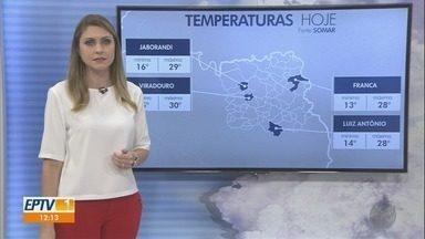 Confira a previsão do tempo para esta terça-feira (2) na região de Ribeirão Preto - Massa de ar seco mantém o predomínio de Sol na maioria das cidades.