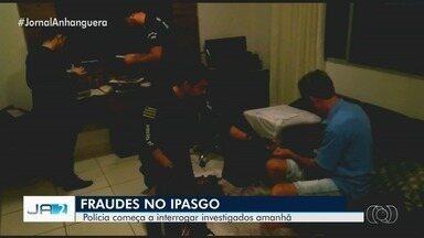 Polícia vai começar a ouvir nesta quarta investigados por irregularidades no Ipasgo - Entre as pessoas que prestarão depoimentos estão médicos e profissionais de saúde que passaram a atender por meio de fraudes no credenciamento.