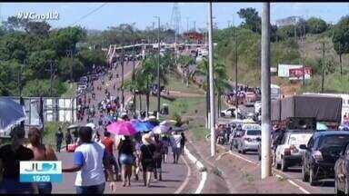 Servidores voltam a protestar em Tucuruí - Servidores voltam a protestar em Tucuruí