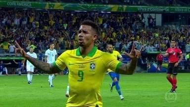 Por 2 a 0, Brasil vence Argentina e vai à final da Copa América - Veja os melhores momentos do jogo Brasil e Argentina pela semifinal da Copa América.