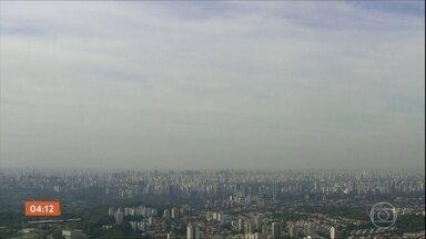 Tempo seco e poluição aumentam problemas respiratórios em São Paulo - Já são 28 dias sem chuva, segundo a medição oficial. Idosos e crianças são os que mais sofrem.