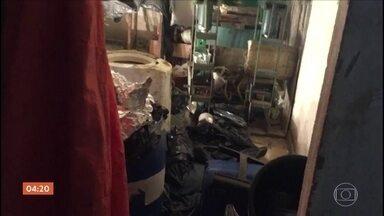 Polícia do RJ encontra laboratório clandestino para preparar drogas - O laboratório foi encontrado no Complexo da Maré.