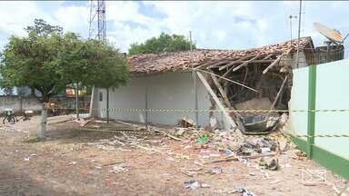 Polícia ainda não tem pistas de quadrilha que explodiu agência bancária no Maranhão - Ação criminosa aconteceu no município de Nova Olinda do Maranhão e assustou os moradores na localidade.
