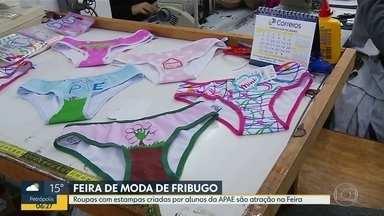Feira de Moda Íntima de Nova Friburgo tem novidade este ano - Algumas peças infantis vão ser estampadas com desenhos feitos por estudantes da APAE.