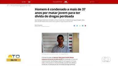 Jovem é condenado a 37 anos de prisão por matar homem para ter dívida de drogas perdoada - Jovem é condenado a 37 anos de prisão por matar homem para ter dívida de drogas perdoada