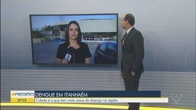 Itanhaém tem 415 casos de dengue registrados em 2019 - Cidade é a que mais tem casos registrados na região.
