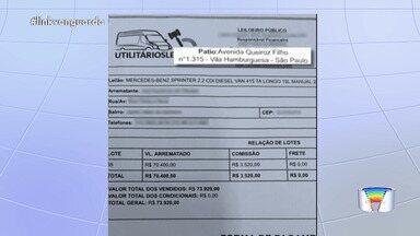 Veja cuidados para não cair no golpe do leilão - Moradores da região tiveram prejuízo ao comprar carros pela internet.