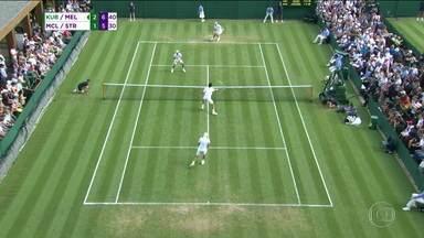 Marcelo Melo e Lukasz Kubot vencem na estreia das duplas de Wimbledon - Marcelo Melo e Lukasz Kubot vencem na estreia das duplas de Wimbledon
