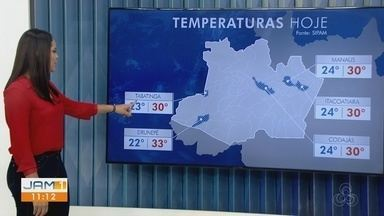 Confira a previsão do tempo para esta quarta-feira (3) - Karla Melo comenta.