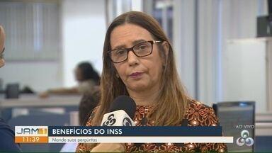 Especialista tira dúvidas sobre os benefícios do INSS - Internautas enviaram perguntas.