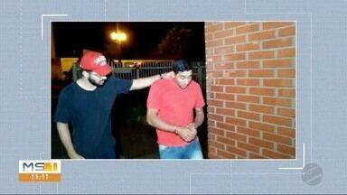 Casal é preso suspeito de agredir criança de 2 anos em Dourados - Em Dourados.