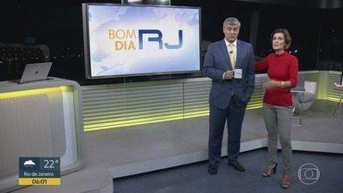 Bom Dia RJ - Edição de sexta-feira, 05/07/2019 - As primeiras notícias do Rio de Janeiro, apresentadas por Flávio Fachel, com prestação de serviço, boletins de trânsito e previsão do tempo.