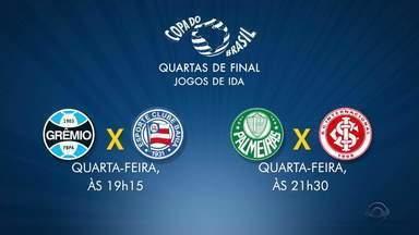 Dupla Gre-Nal se prepara para partidas na Copa do Brasil - Assista ao vídeo.