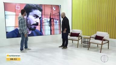 'Vai Encarar': Gustavo Garcia encara desafio de crossfit com Ana Paula Mendes - Assista a seguir.