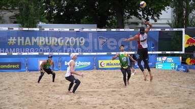 Todas as duplas do Brasil são eliminadas no Mundial de Vôlei de praia - Todas as duplas do Brasil são eliminadas no Mundial de Vôlei de praia