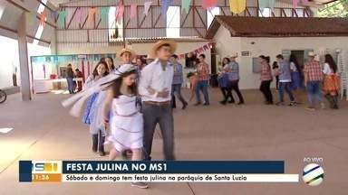 Sábado e domingo tem festa julina na paróquia de Santa Luzia - Sábado e domingo tem festa julina na paróquia de Santa Luzia