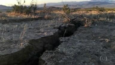 Califórnia é atingida por segundo terremoto de grande intensidade - Foi o terremoto mais forte a atingir o estado americano em 20 anos.