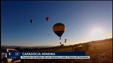 Encontro de balões é realizado em São Roque de Minas - Terceira edição do evento reuniu apaixonados pelas belezas naturais. Em 2020, a previsão é que o festival seja realizado de 9 a 11 de julho. Evento deixou o turismo na Serra da Canastra mais atrativo.