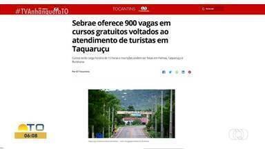 G1 destaca 900 vagas em cursos gratuitos voltados ao atendimento de turistas em Taquaruçu - G1 destaca 900 vagas em cursos gratuitos voltados ao atendimento de turistas em Taquaruçu