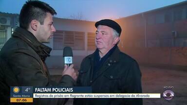 Delegacia de plantão em Alvorada não está atendendo registros de flagrantes - Segundo a polícia estão faltando delegados.