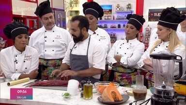 Workshop - comida nordestina - O chef Onildo Rocha leva um ar contemporâneo para a comida nordestina