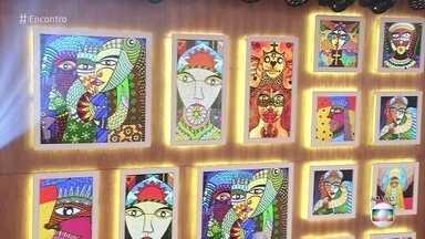 Telão do Encontro: Tito Lobo - Artista é um autodidata e tem trabalhos expostos em vários países