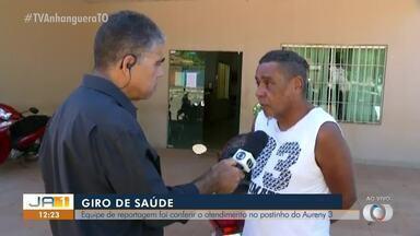 Repórter Carlão visita o postinho do Aureny lll para conferir o atendimento - Repórter Carlão visita o postinho do Aureny lll para conferir o atendimento