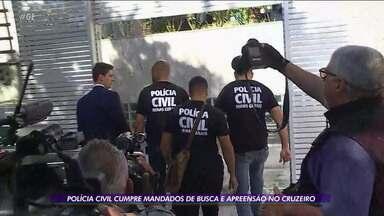 Polícia Civil cumpre mandados de busca e apreensão no Cruzeiro - Polícia Civil cumpre mandados de busca e apreensão no Cruzeiro