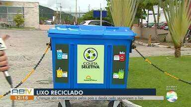 Moradores se unem e criam iniciativa de reciclagem de lixo em Caruaru - Lixo e entulho além de poluir prejudica os moradores.