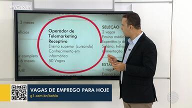 Simm oferece 50 vagas para operador de telemarketing nesta quarta-feira - Confira outras oportunidades de trabalho disponíveis no órgão.