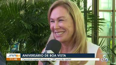 Prefeitura de Boa Vista organiza programação especial em alusão ao aniversário da cidade - Atrações culturais e homenagens são realizadas durante todo o dia no Teatro Municipal.