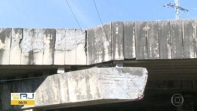 Sem manutenção - Depois que Bom Dia Rio revelou que Prefeitura não gastou nenhum centavo em obras de recuperação de túneis, viadutos, pontes e passarelas, Secretaria de Infraestrutura mandou uma nota dizendo que faz manutenção quando necessário.