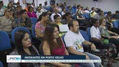 Novos Venezuelanos chegam a Rondônia - 36 imigrantes embarcaram em Porto Velho nesta quinta-feira.